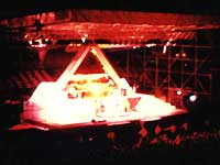 Asia live at the Forest Hills Tennis Stadium in 1983.